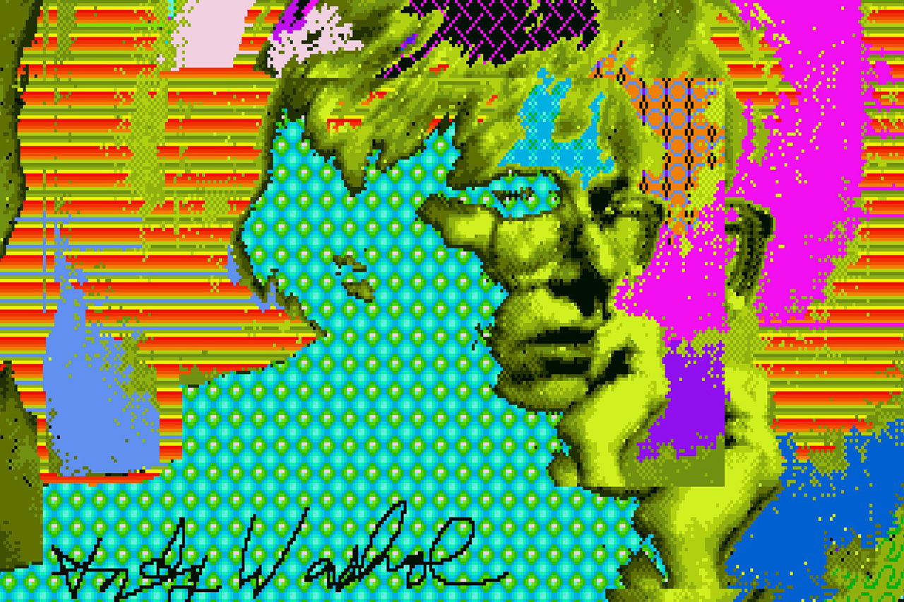 Lost Andy Warhol Digital Works Found on Floppy Disks