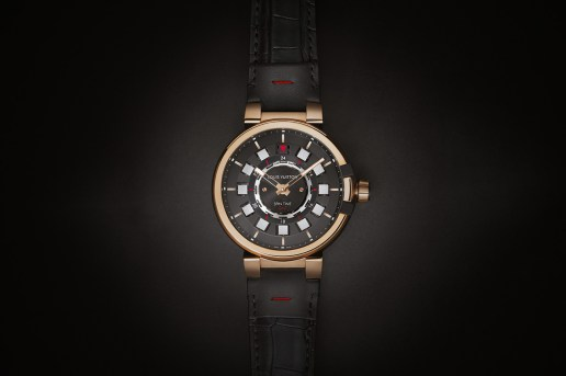 Louis Vuitton Tambour eVolution Spin Time GMT