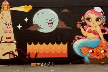 LRG Artist Driven: Dabs Myla POW! WOW! Hawaii