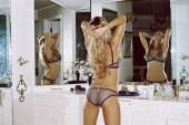 Shané van der Westhuizen Models Maison Kitsuné x Yasmine Eslami's Lingerie Collection