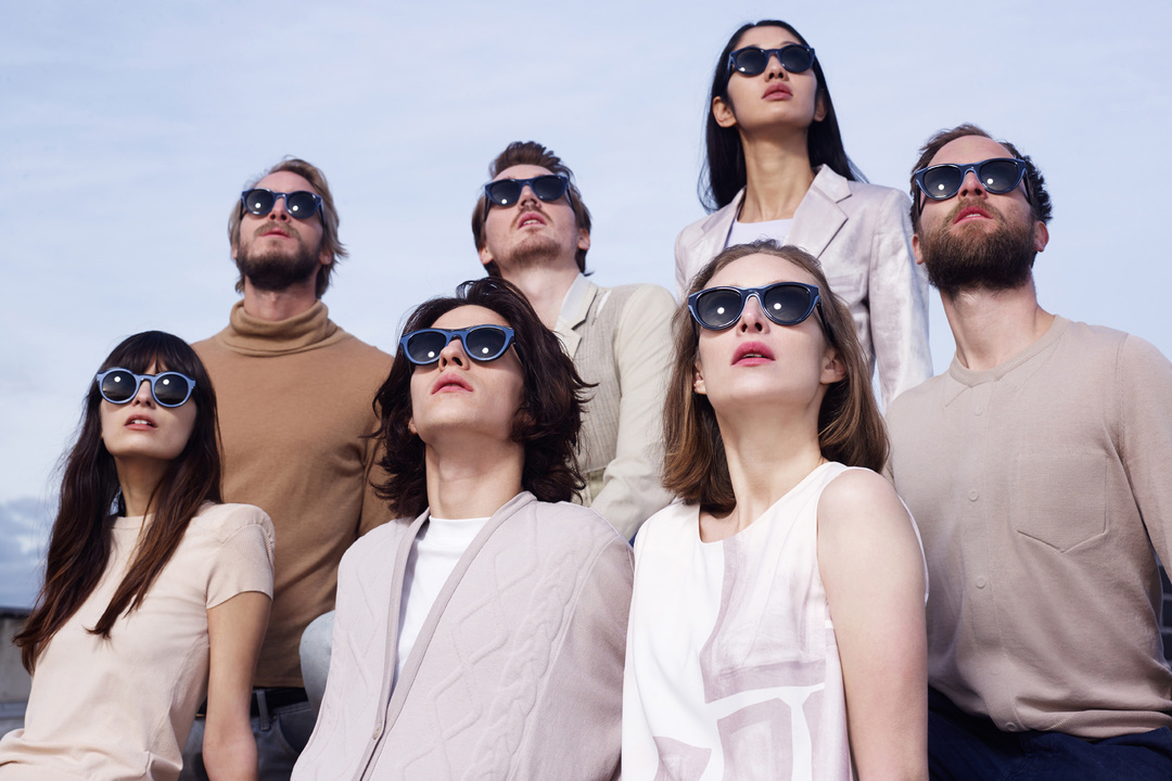 maison martin margiela x mykita 2014 spring summer collection