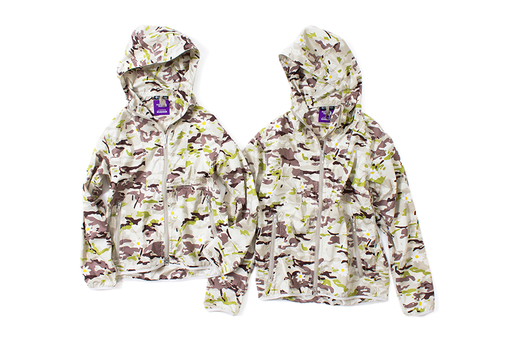 "Mark McNairy x THE NORTH FACE PURPLE LABEL 2014 Spring/Summer ""Daisy Camouflage"" Collection"
