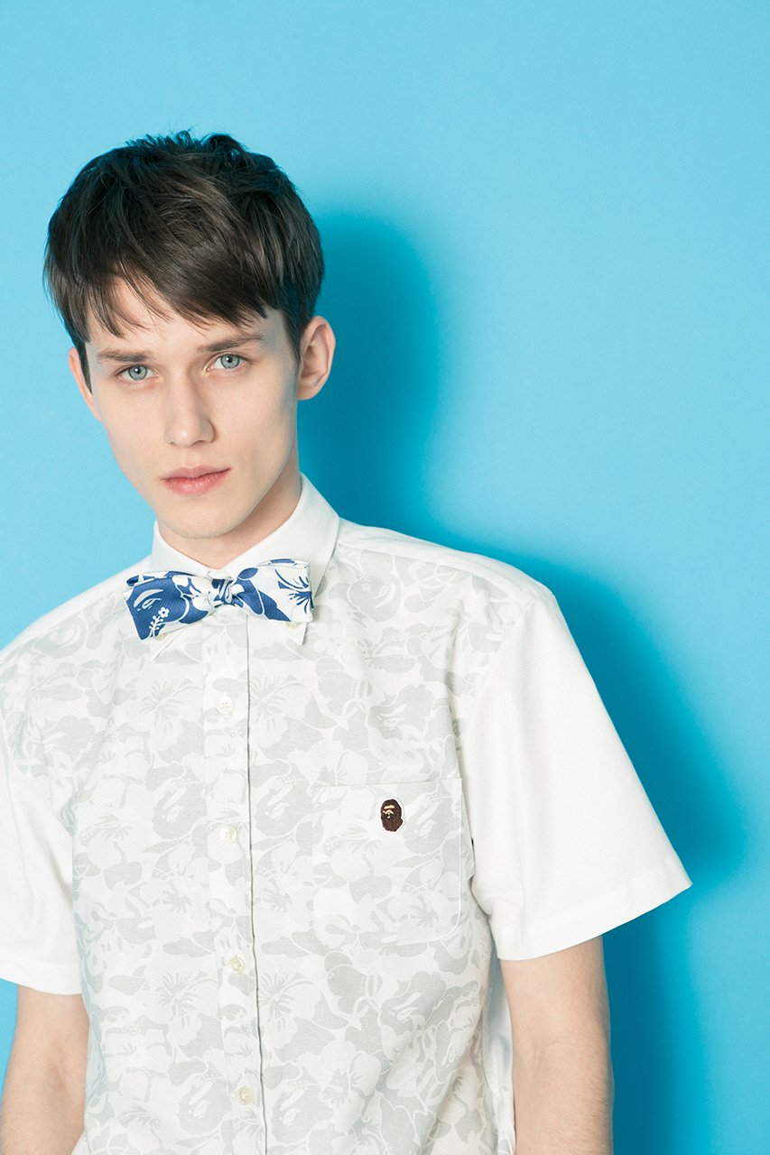 mr bathing ape 2014 spring summer lookbook