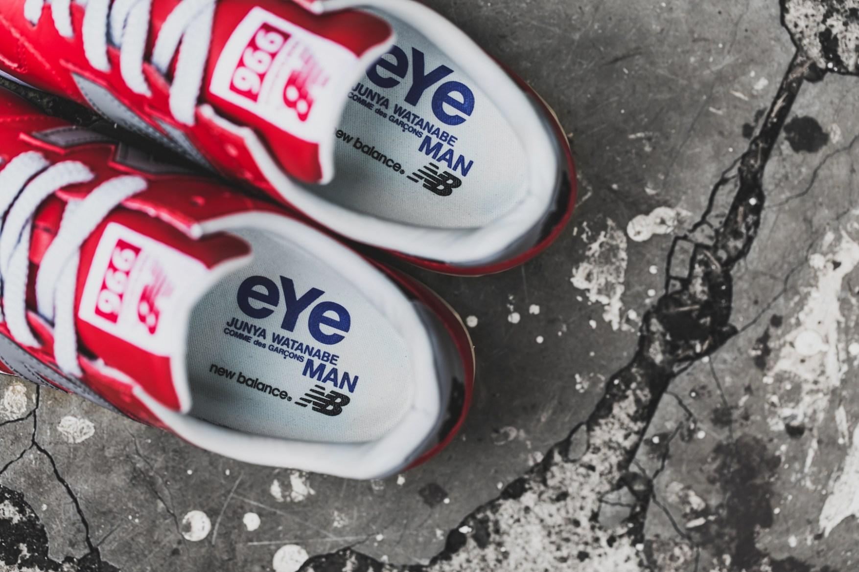 A Closer Look at the eYe COMME des GARÇONS Junya Watanabe Man x New Balance MRL996