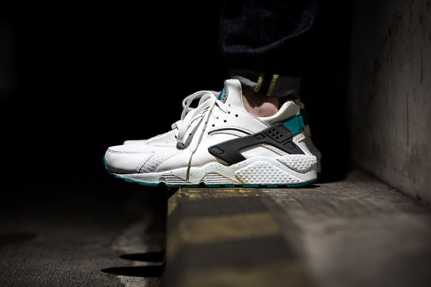 nike air huarache turbo green