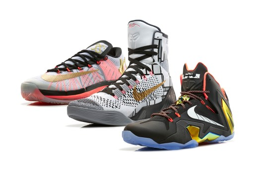 "Nike Basketball 2014 Elite Series ""Gold"" Collection"