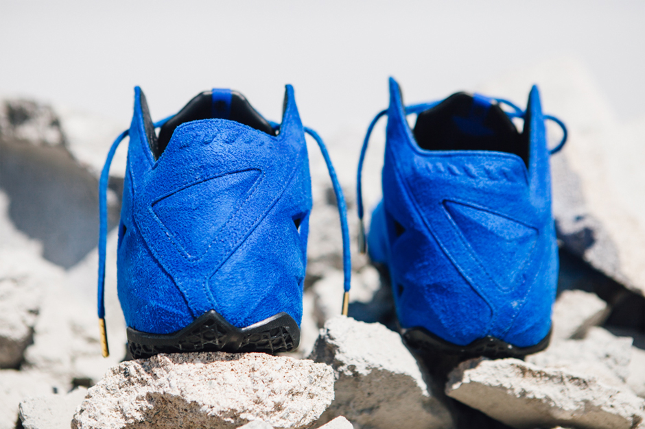 """Nike LeBron 11 EXT """"Blue Suede"""""""