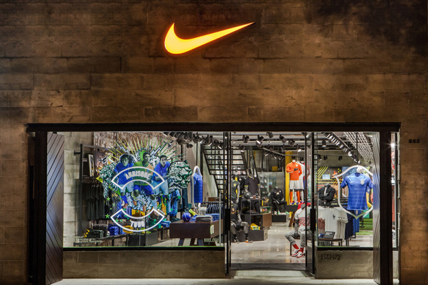 Nike Opens First Football-Only Store in Brazil