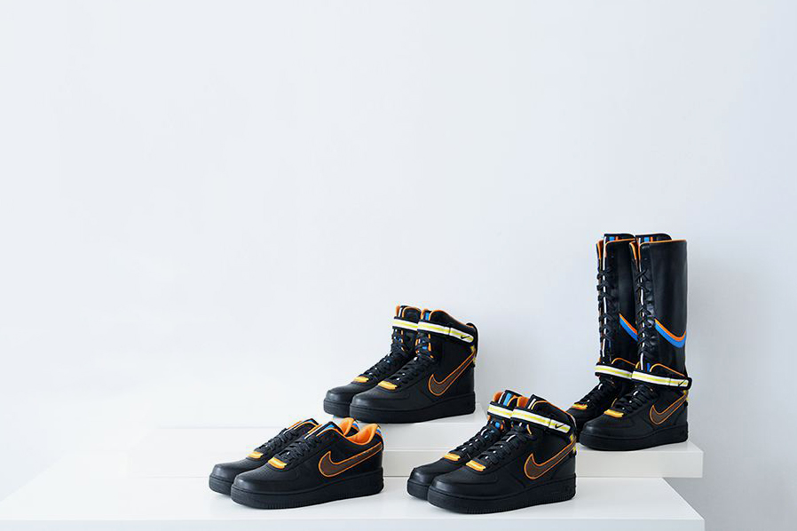 Nike + R.T. Air Force 1 Black Collection