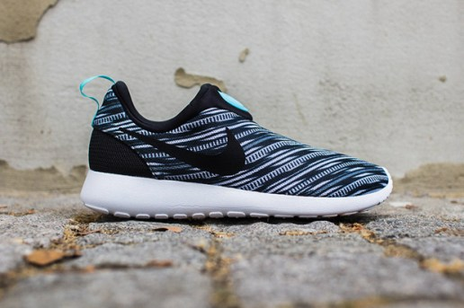 Nike Roshe Run Slip On GPX Black/White