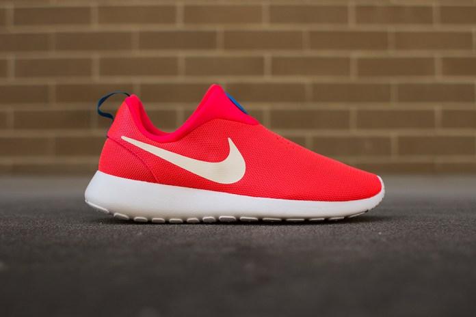 """Nike Roshe Run Slip On """"Laser Crimson"""""""