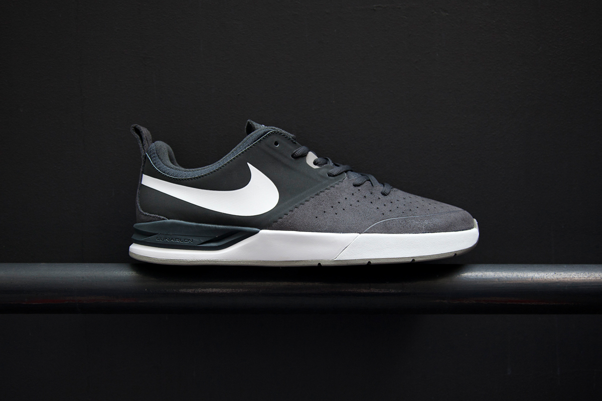 nike sb project ba anthracite white