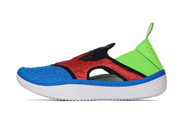 nike solarsoft rache photo blue white black