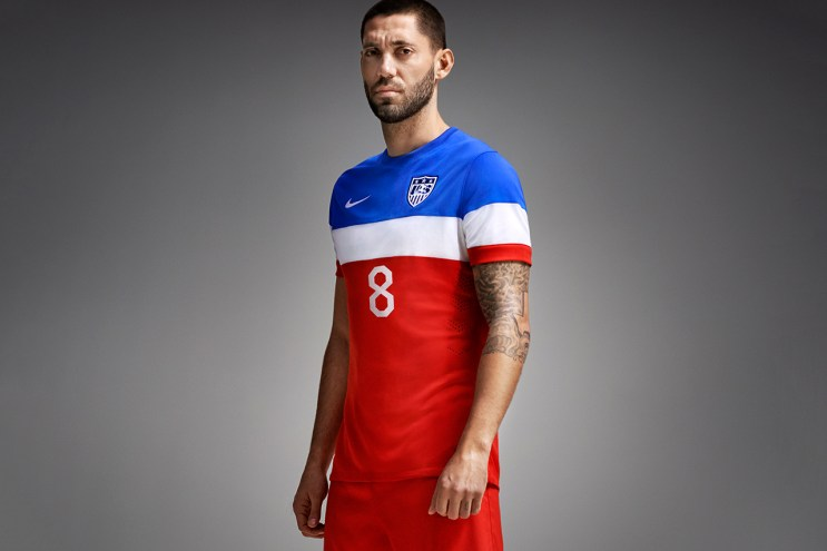 Nike Unveils 2014 U.S. Soccer Away Kit