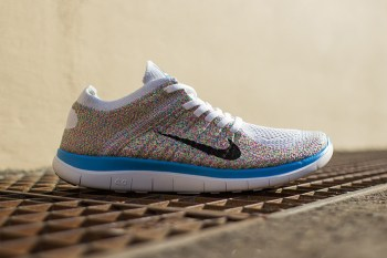 "Nike Womens Free 4.0 Flyknit ""Multi-Color"""