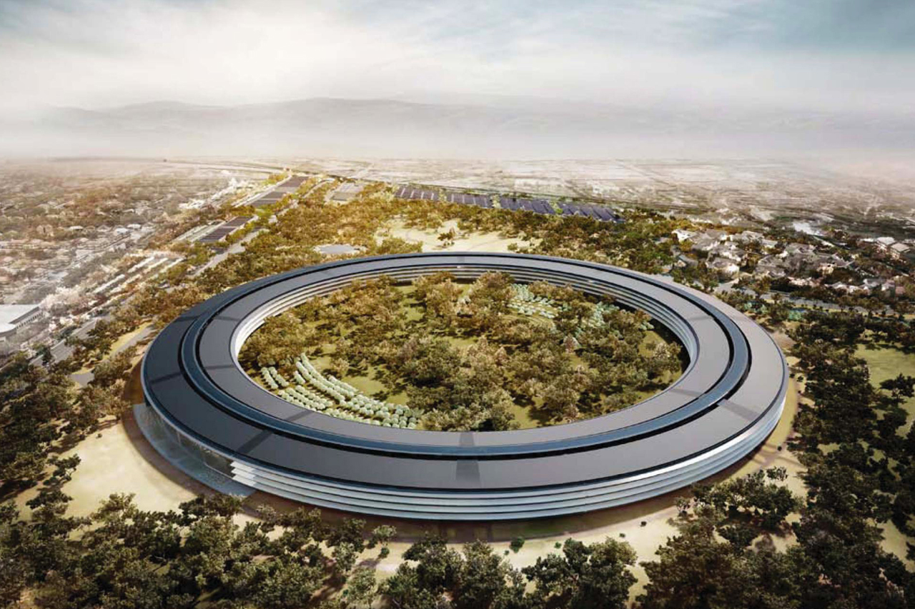 Norman Foster Takes Us Inside Apple's Spaceship Campus 2