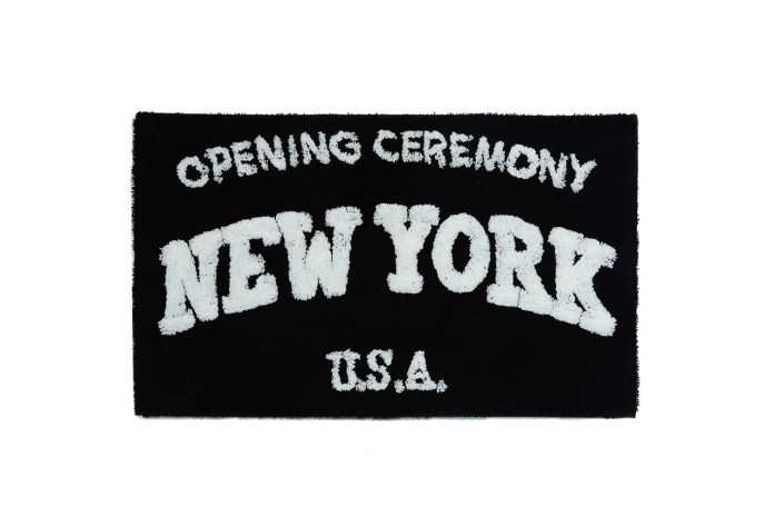 "Opening Ceremony x SECOND LAB ""New York"" Rug"