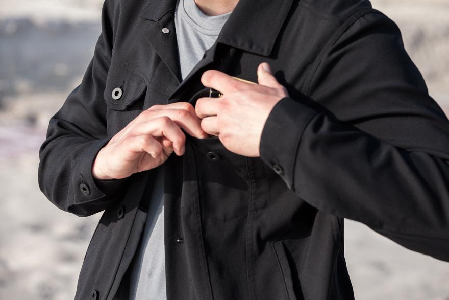 Outlier 2014 Spring/Summer Shank Jacket