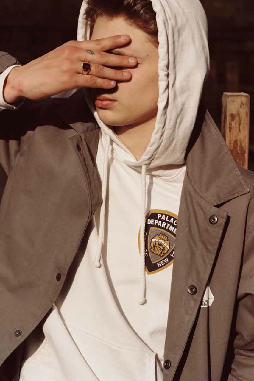 Palace Skateboards 2014 Spring/Summer Editorial by Man About Town