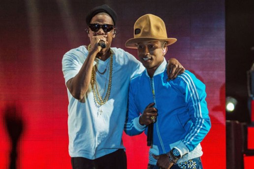 Pharrell is Joined by Jay Z, Usher, T.I., Pusha T and More During Second Coachella Performance