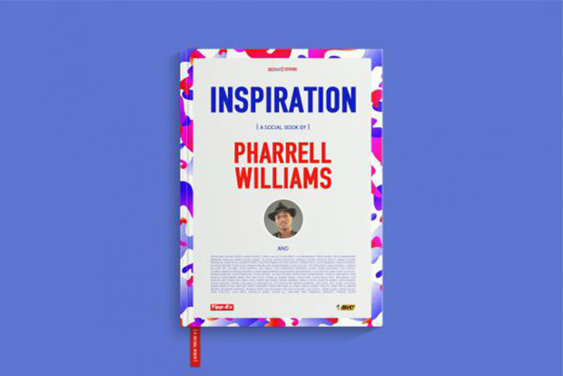 pharrell releases new social book