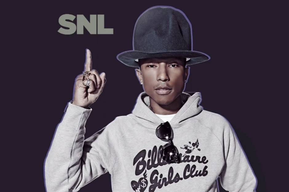 Pharrell's SNL Performance featuring Hans Zimmer
