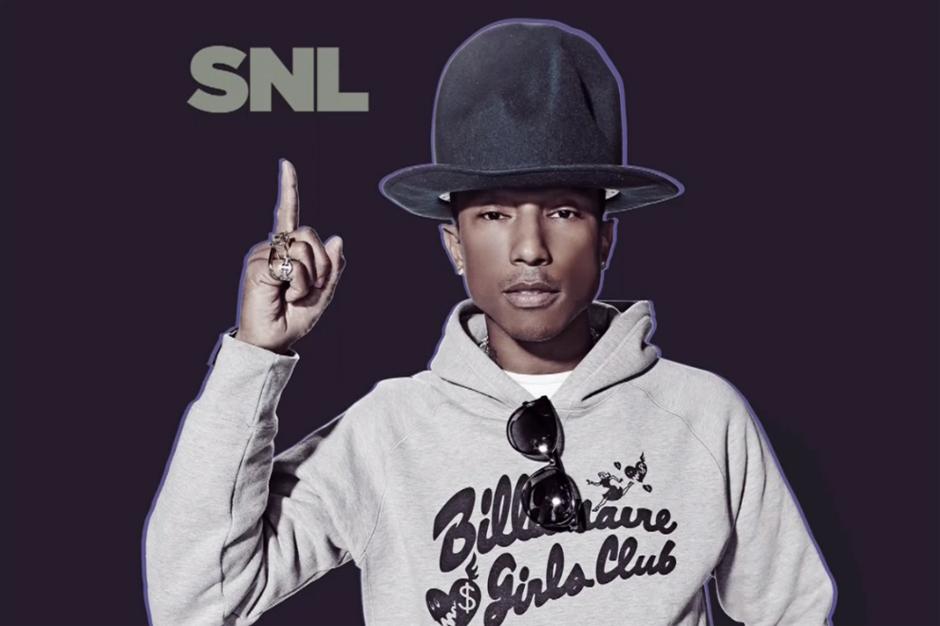 Pharrell's SNL Performance featuring Hans Zimmer