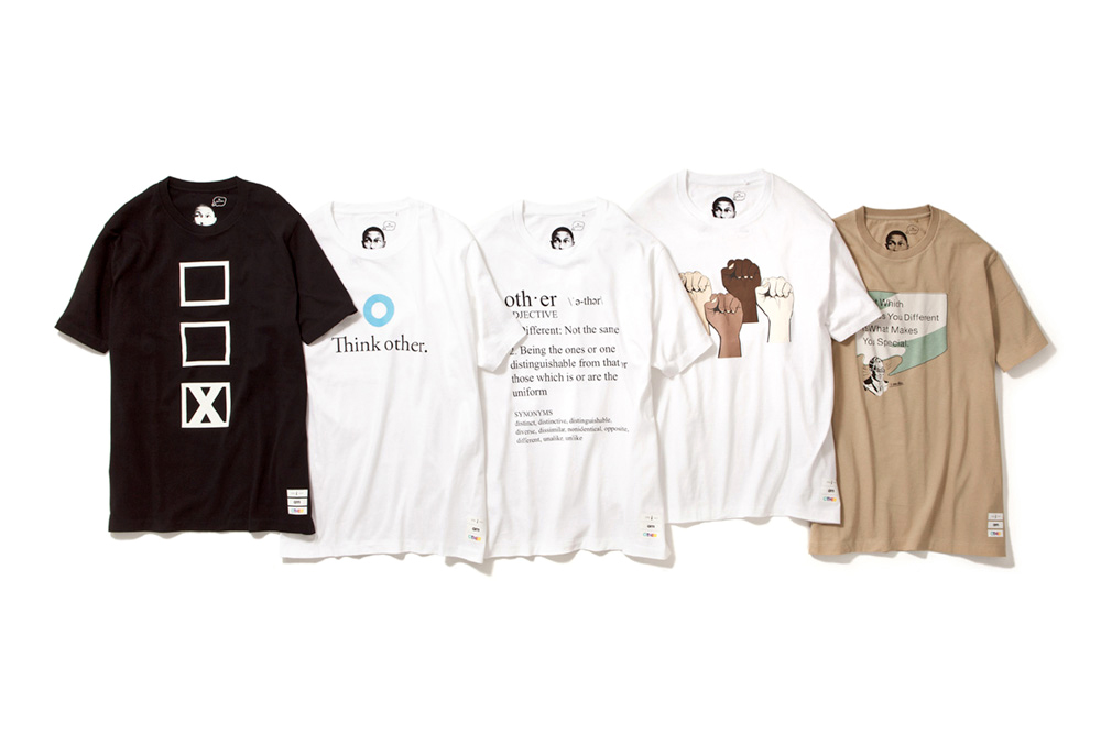 """Pharrell Williams x Uniqlo UT 2014 Spring/Summer """"i am OTHER"""" Collection"""