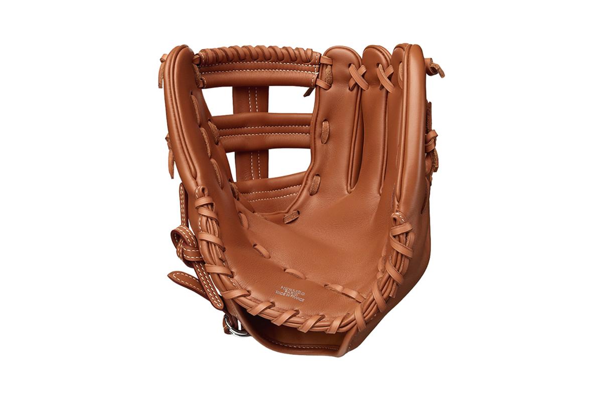 Play the Field with a $14,100 USD Hermès Baseball Glove
