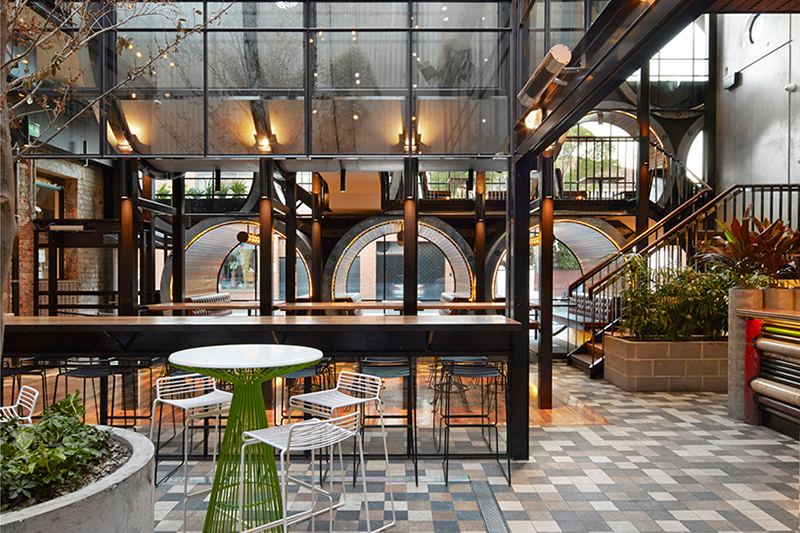 Prahran Hotel by Techné Architects