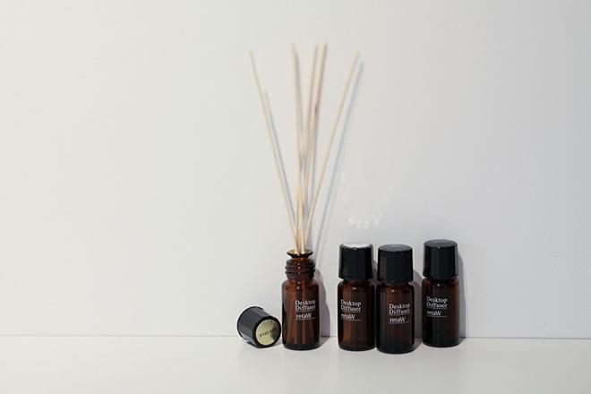retaW Fragrance Desktop Reed Diffuser