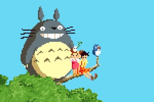 Richard J. Evans Reimagines the Studio Ghibli Universe in 8-Bit