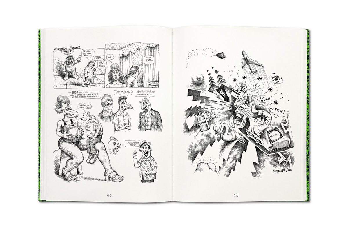 a look into the work of a legend with robert crumbs sketchbooks 1964 1982