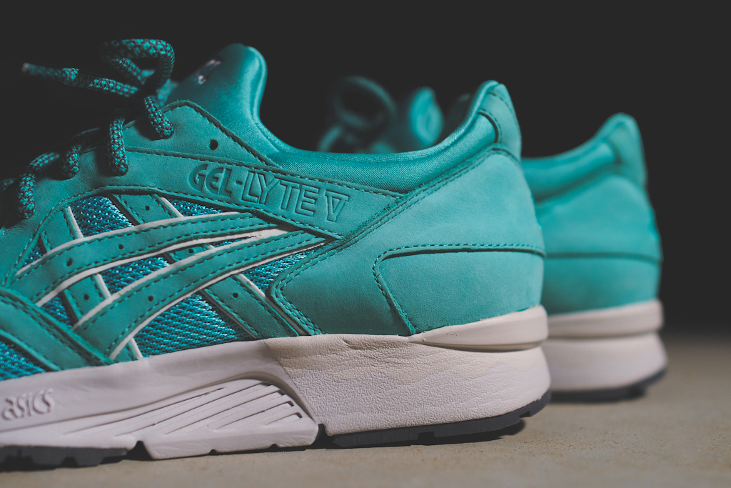 "Ronnie Fieg x ASICS Gel Lyte V ""Mint Leaf"" & ""Cove"""