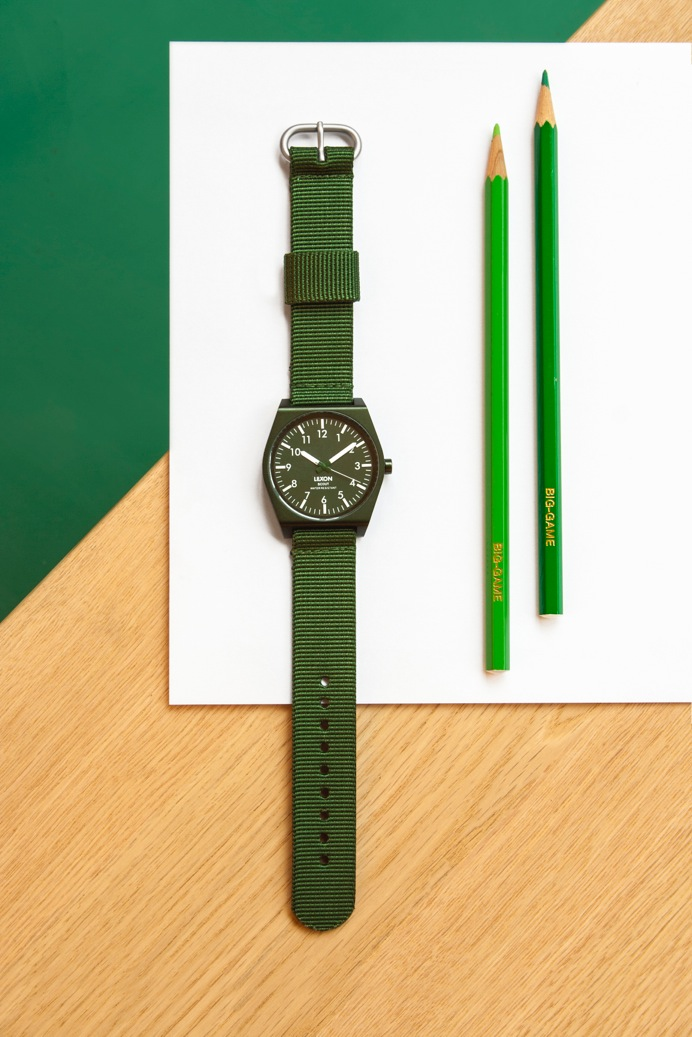scout by big game x lexon watches