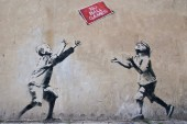 Seven Banksy Works Removed from Public Walls; To Be Auctioned Off