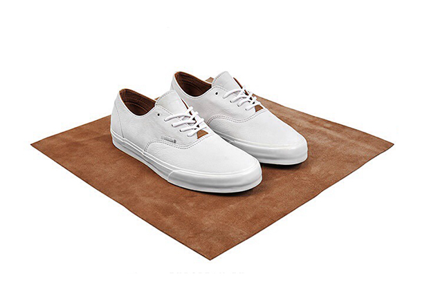 "Vans California ""Clean White"" size? Exclusive Collection"
