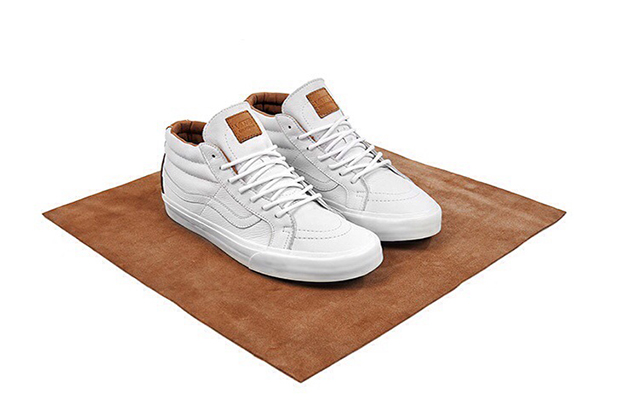 """Vans California """"Clean White"""" size? Exclusive Collection"""