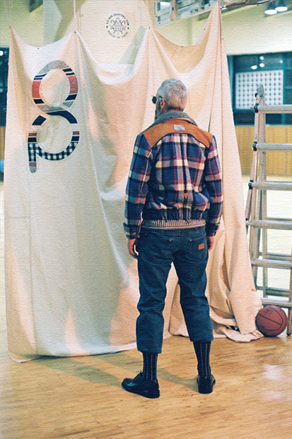 "Sneezer Parade 2014-15 Fall/Winter ""Old Man Basketball Team"" Lookbook"