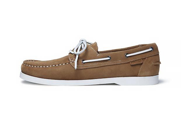 SOPHNET. 2014 Spring/Summer Leather Deck Shoes