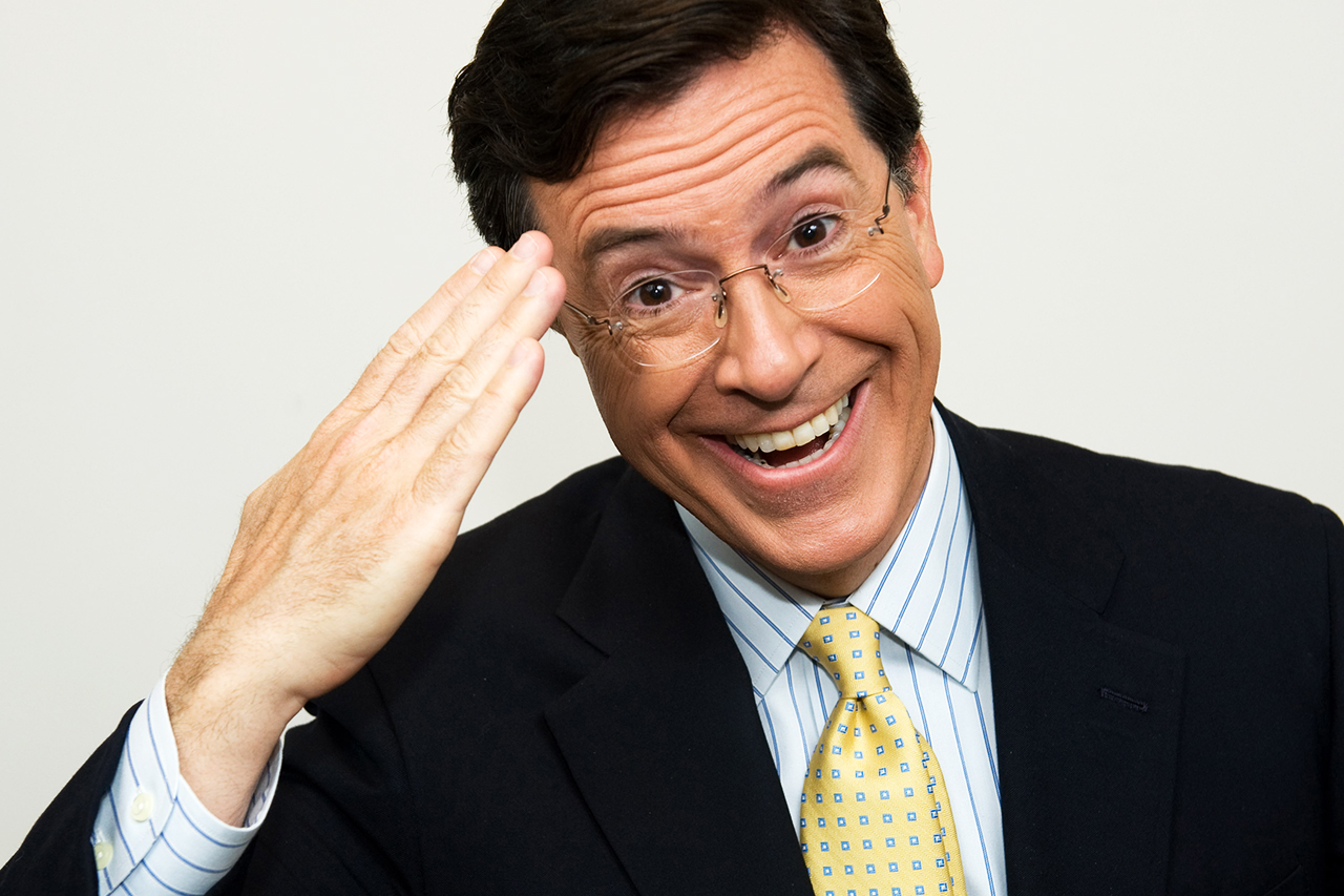 stephen colbert to succeed david letterman as host of late show