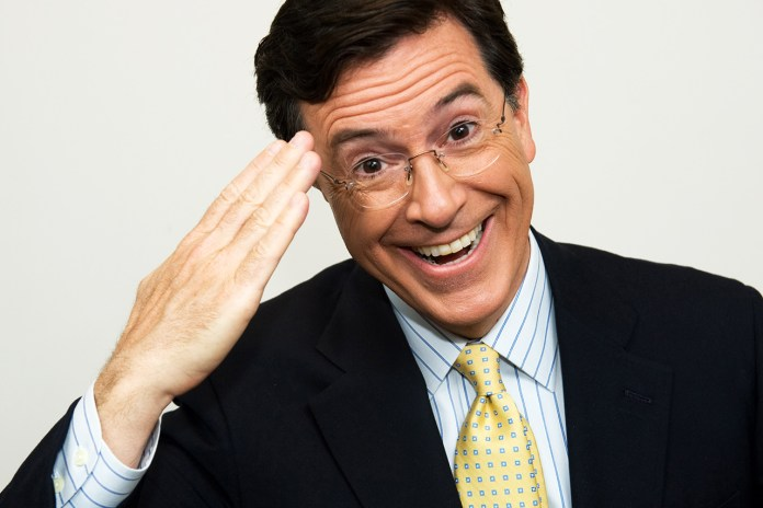 Stephen Colbert to Succeed David Letterman as Host of 'Late Show'