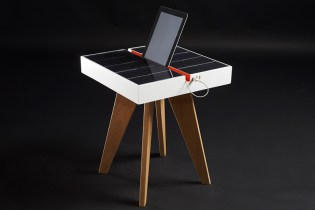 Studio Natural Introduces A Light-Powered Charging Station