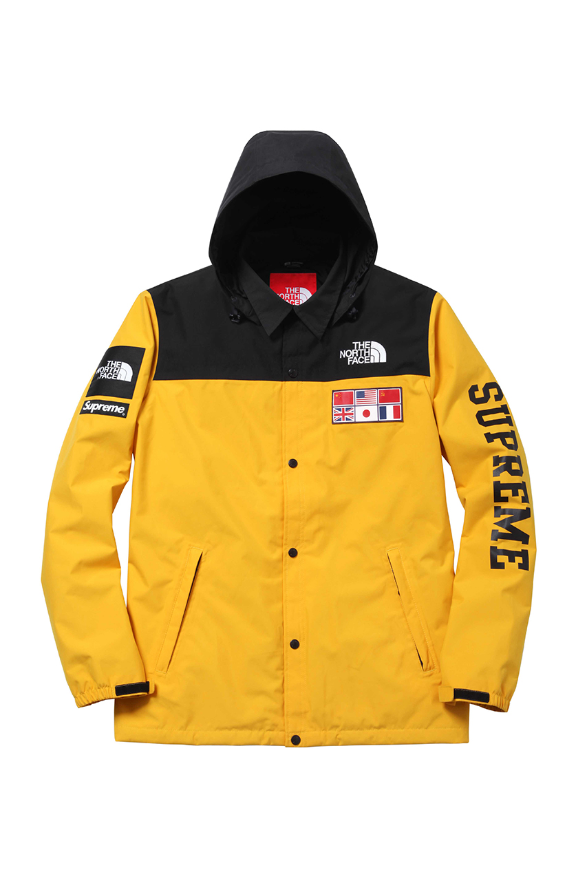 supreme x the north face 2014 spring summer collection