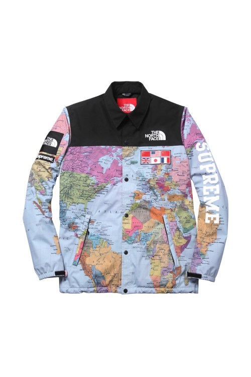 Map of the world jacket map of the world jacket supreme x the north face 2014 spring summer collection gumiabroncs Gallery