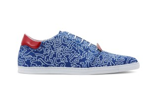 SWEAR by Keith Haring Printed Sneaker