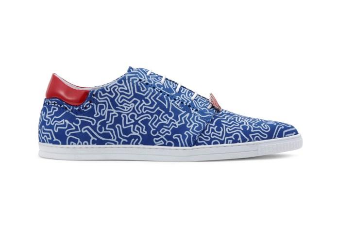 SWEAR by Keith Haring Printed Sneaker
