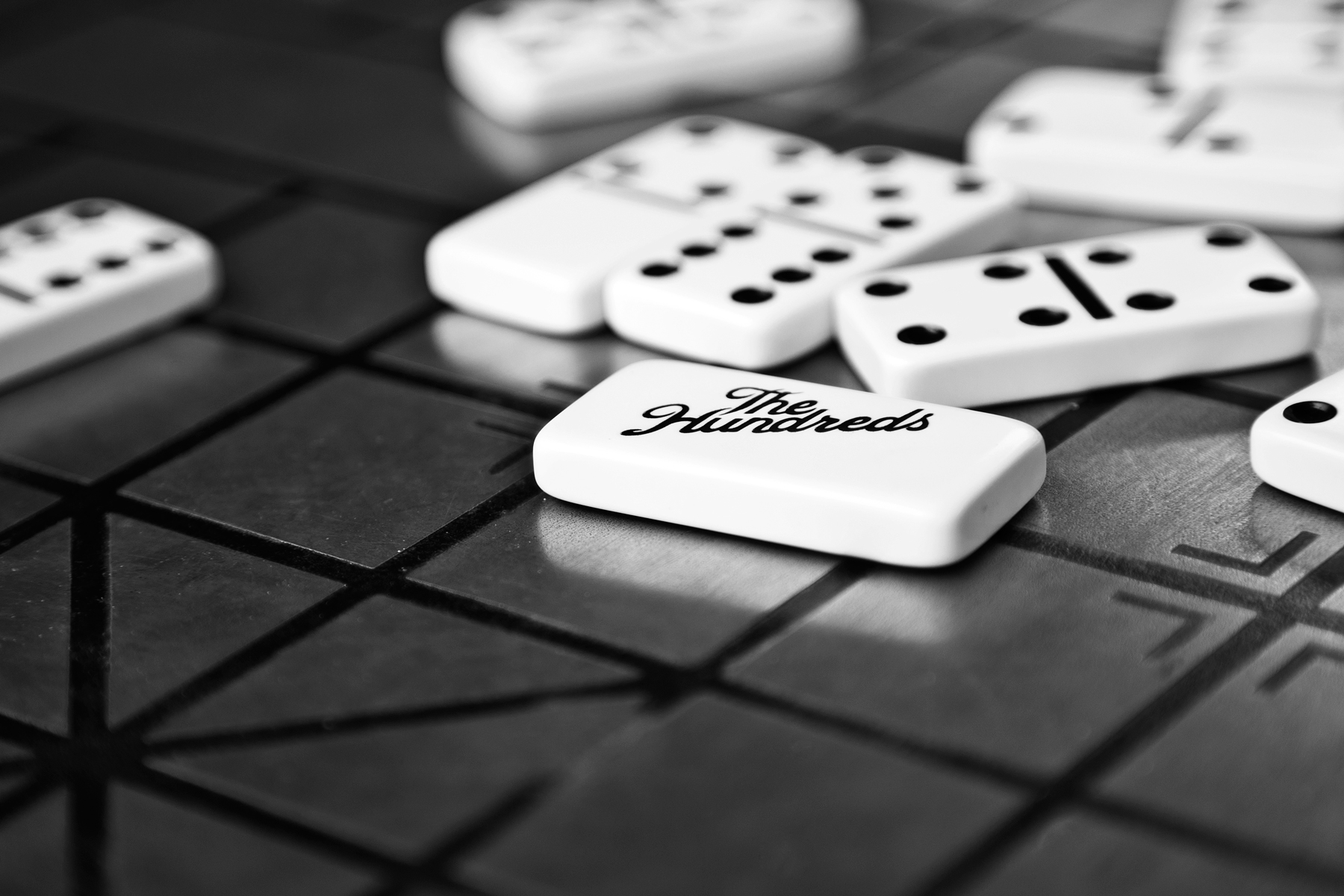 The Hundreds 2014 Spring/Summer Black Dominoes Set