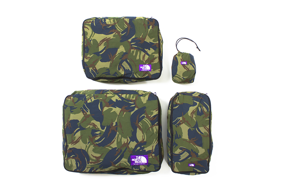 the north face purple label 2014 spring summer camouflage bag collection