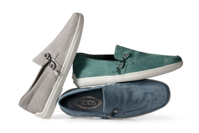 Tod's 2014 Spring/Summer Envelope Boat Shoes by Nendo